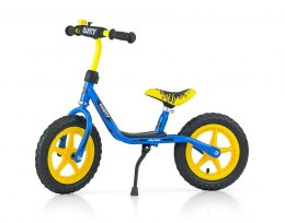 "Milly Mally Rowerek Biegowy Dusty 12"" Blue-Yellow"